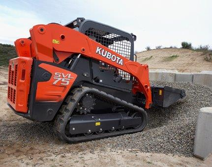 Earth Moving Rental of Kubota SVL75