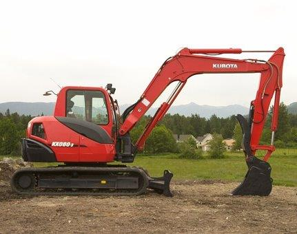 Earth Moving Kubota KX808